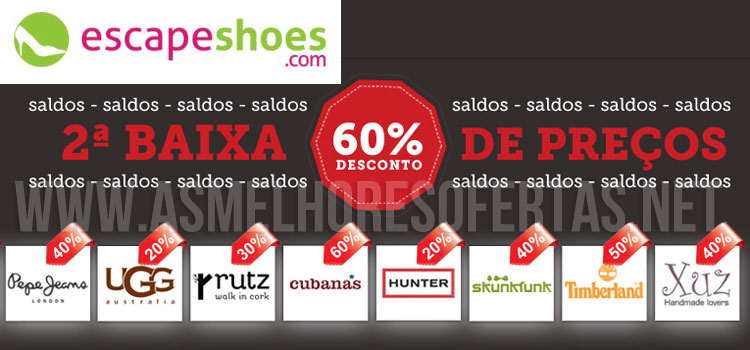 Photo of Descontos até 60% nos Saldos da Escapeshoes