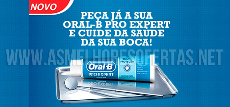 Amostra Grátis Oral-B no Para Mim