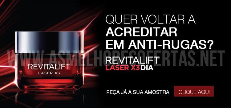 Photo of Amostra Grátis L'Oréal Revitalift Laser X3