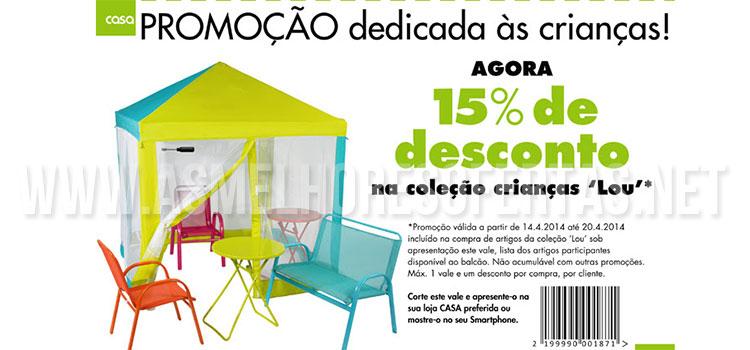 Photo of Desconto Colecção Crianças Lojas Casa