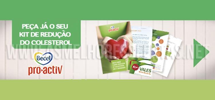 Photo of Kit de Redução de Colesterol Becel Grátis
