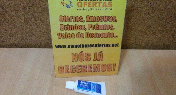 Photo of Recebido – Amostra Grátis Oral-B