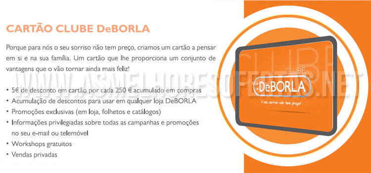 Photo of Cartão Clube DeBorla