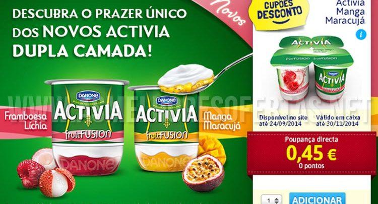 Photo of Vale de Desconto Danone Activia Fruit Fusion