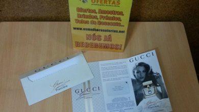 Recebido - Amostra Grátis Perfume Gucci Première