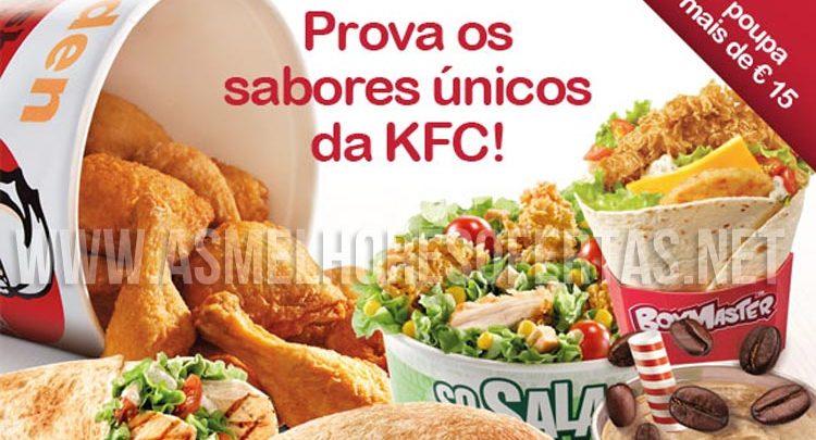 Cupões KFC Janeiro de 2015