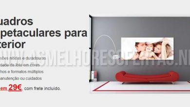 Fotos Impressas em Tela em Promoção