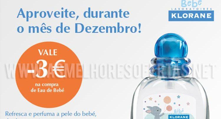 Photo of Cupão de Desconto Eau de Bebé Klorane