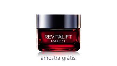 Amostra Grátis Revitalift Laser X3