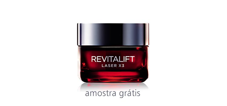 Photo of Amostra Grátis Revitalift Laser X3
