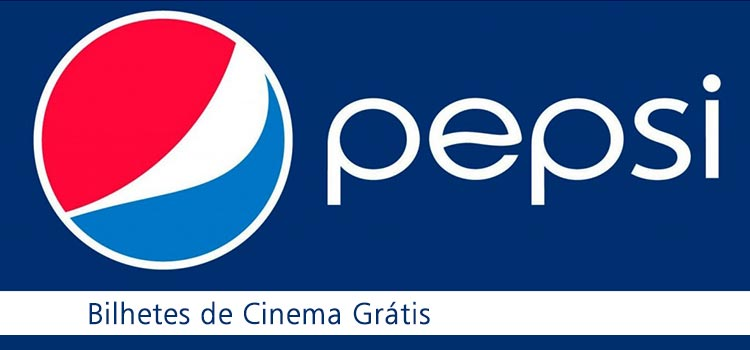 Bilhetes de Cinema Grátis Pepsi