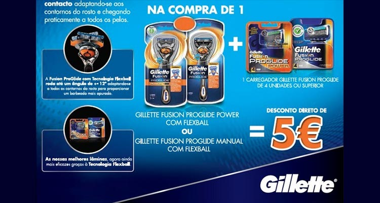 Photo of Promoção Gillette – Continente