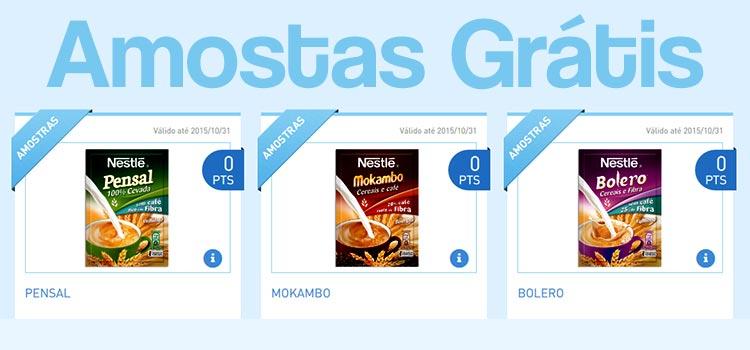 Amostras Grátis Bebidas Cereais Nestlé