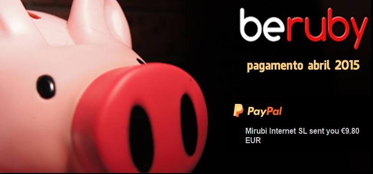 Photo of Pagamento BeRuby Abril 2015