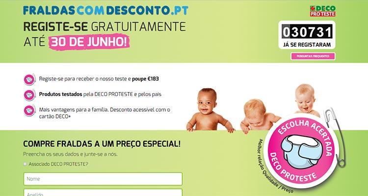 Photo of Fraldas com Desconto DECO
