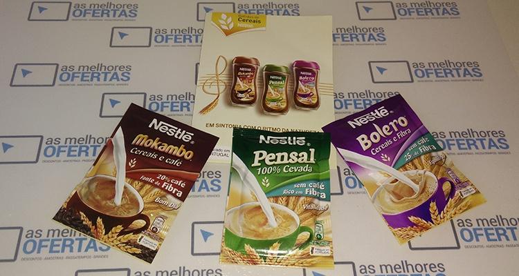 Recebido - Amostras de Bebidas de Cereais Nestlé