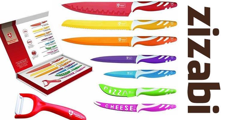 Photo of Passatempo Zizabi – 1 conjunto de facas cerâmicas