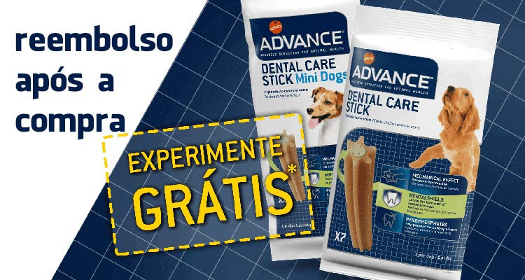 Experimente Grátis Advance Dental Care Stick