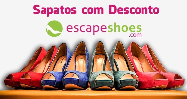 Photo of Descontos em Sapatos Fora de Estação na Escapeshoes