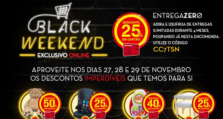 Photo of Black Weekend Continente