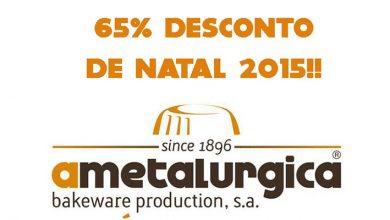 65% de Desconto A Metalúrgica