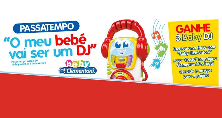 Photo of O Meu Bebé Vai Ser Um DJ