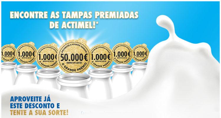 Photo of Tampas Premiadas Actimel