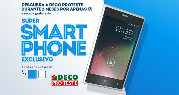 Photo of A DECO está a dar Smartphones