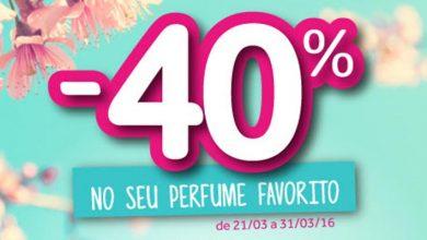 40% de Desconto Perfumes O Boticário