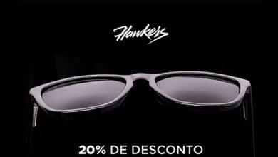 20% de Desconto Óculos de Sol Hawkers