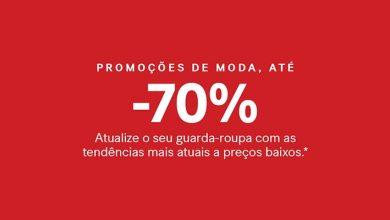Descontos H&M até 70%