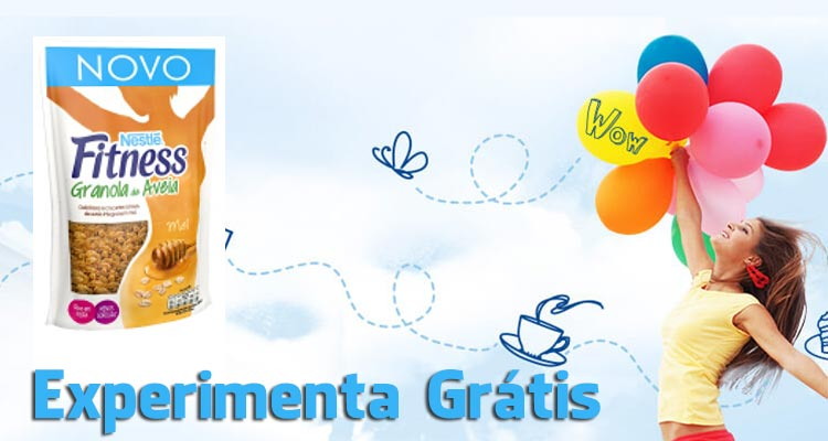 Photo of Experimenta Grátis Fitness Granola de Aveia