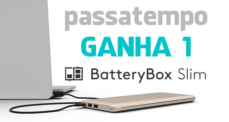 Ganha 1 BatteryBox Slim
