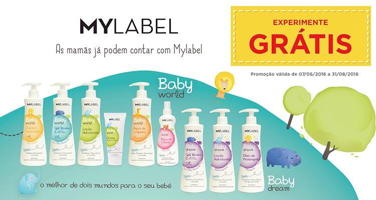Experimenta Grátis Mylabel para bebé