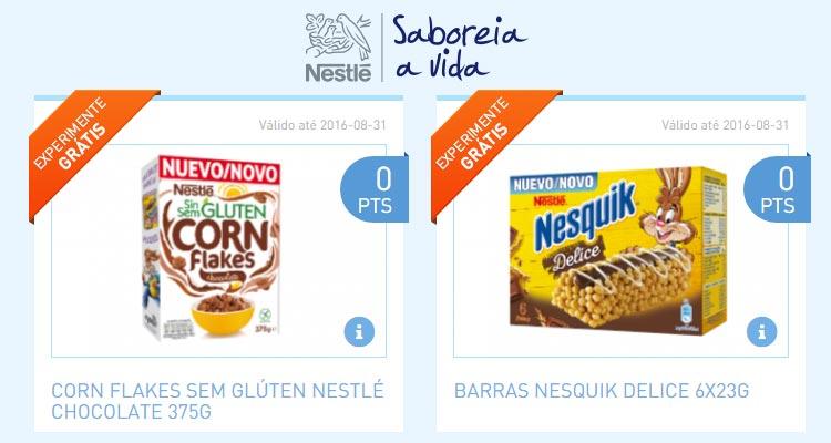 """Photo of Novos """"Experimenta Grátis"""" Nestlé"""