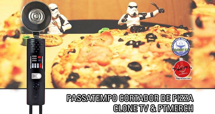 Photo of Ganha 1 Cortador de Pizza Star Wars