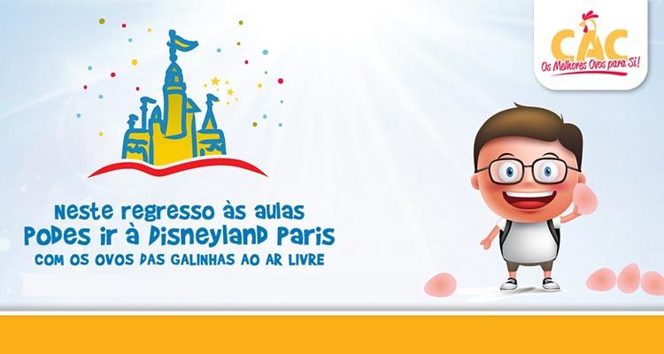 Photo of Ganha 1 Viagem à Disneyland Paris com a CAC