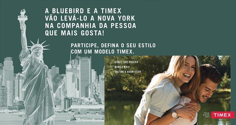 Photo of Ganha 1 Viagem a Nova Iorque com Timex