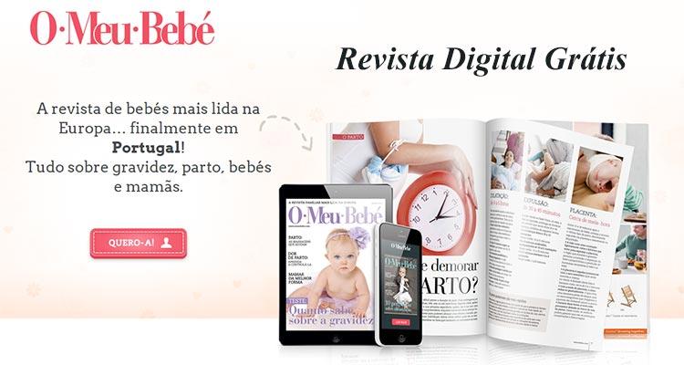 """Photo of Revista """"O Meu Bebé"""" Grátis"""