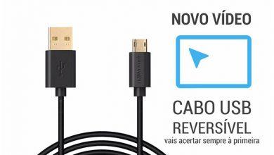 Review Vídeo de Cabo USB Reversível