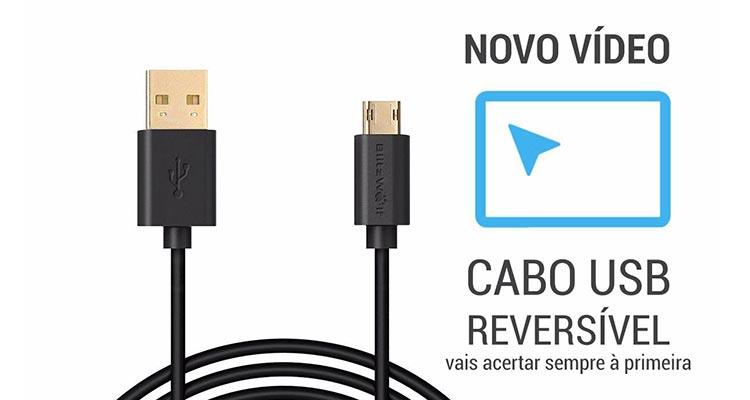 Photo of Cabo USB Reversível – Com Vídeo