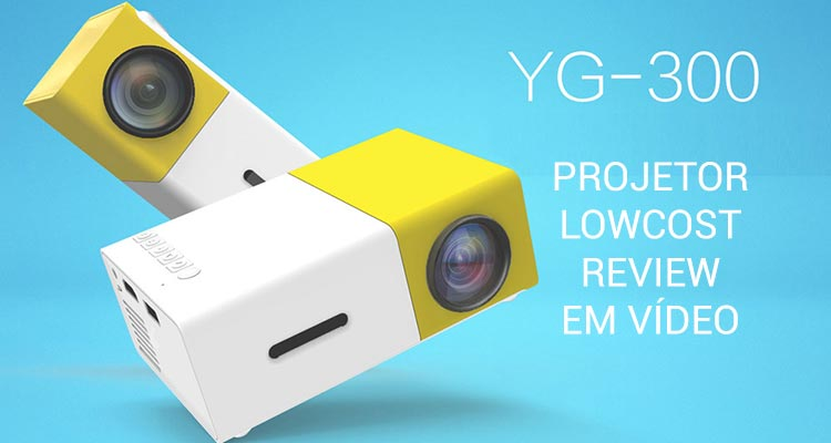 Photo of YG-300 Projector Lowcost – Review com Vídeo
