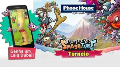 Torneio Smash Time - Ganha 1 Smartphone