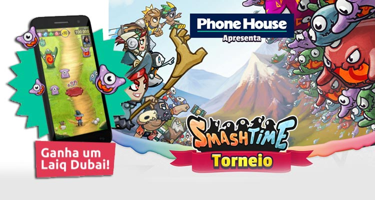 Photo of Torneio Smash Time – Ganha 1 Smartphone