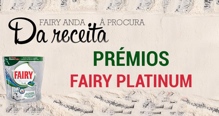 Photo of Ganha Prémios Fairy Platinum