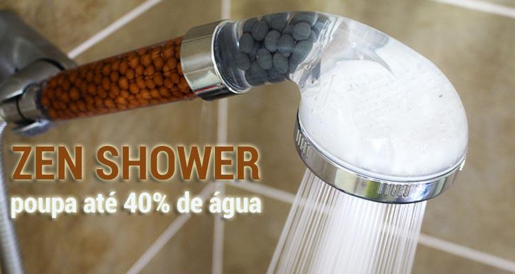 Photo of Zen Shower – Poupa até 40% de Água
