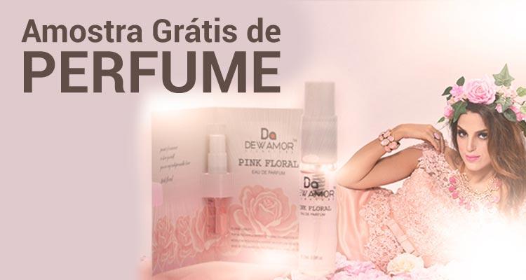 Amostra Grátis Perfume Dewamor