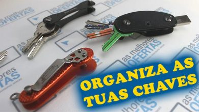 Vídeo - organiza as tuas chaves