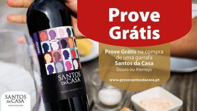 Prova Grátis vinho Santos da Casa