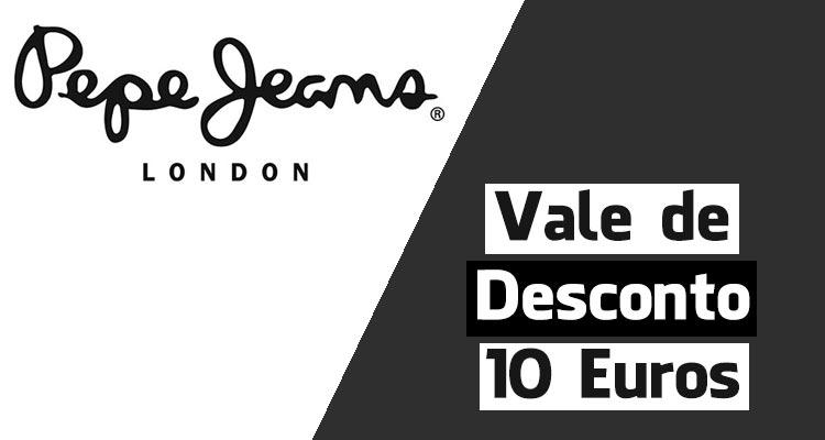 Vale de Desconto 10 Euros Pepe Jeans